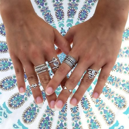 Lovelings Midi Rings Silver Stack