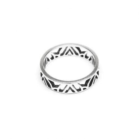 Sterling Silver Mawu Ring by Aloha Gaia